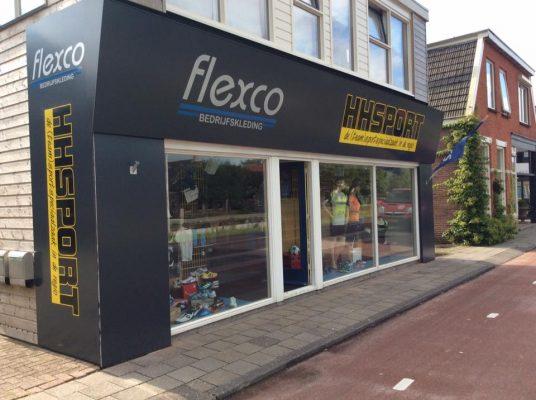 Afbeelding van het pand van Flexco aan de Hoofdweg in Smilde