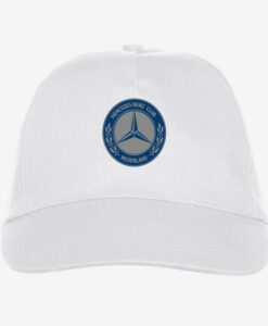Afbeelding MBCN cap met logo wit