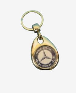 Afbeelding MBCN sleutelhanger zilver