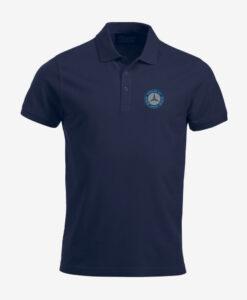 Afbeelding MBCN poloshirt met logo op de borst marine