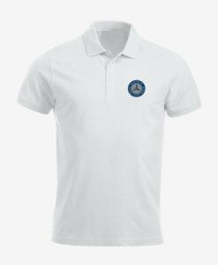 Afbeelding MBCN poloshirt met logo op de borst wit