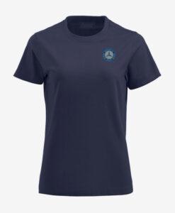 Afbeelding MBCN T-shirt met logo op de borst marine