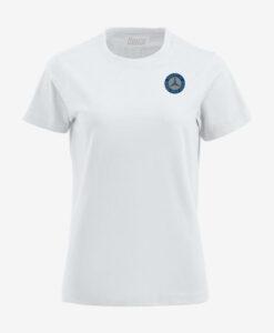 Afbeelding MBCN T-shirt met logo op de borst wit