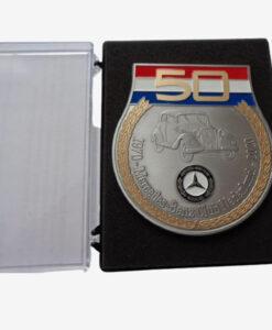 Afbeelding Aluminium clubschildje 50 jaar MBCN