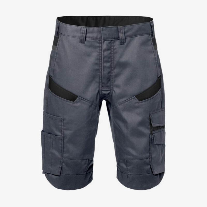 Afbeelding Fristads korte broek grijs/zwart