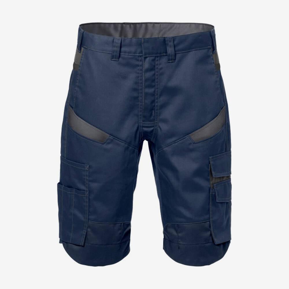 Afbeelding Fristads korte broek marineblauw/grijs
