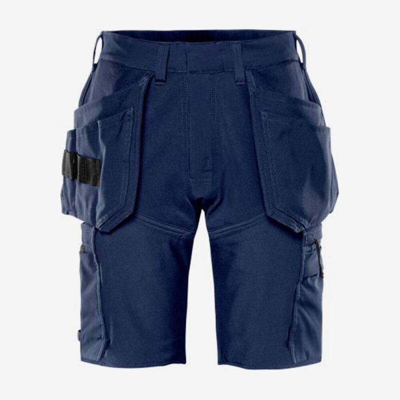 Afbeelding Fristads korte broek stretch donkermarineblauw