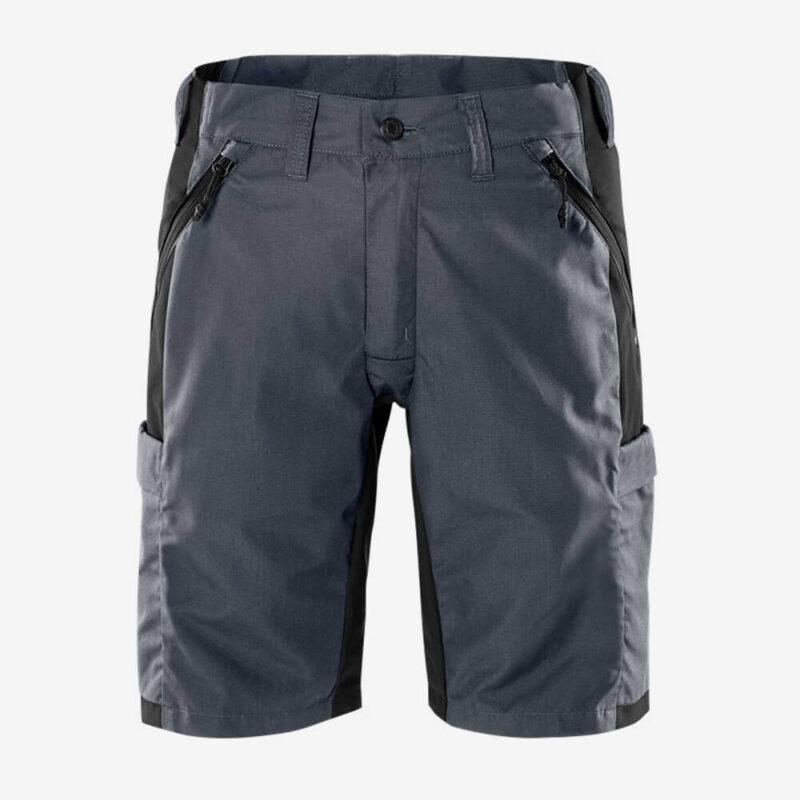 Afbeelding Fristads service korte broek stretch grijs/zwart